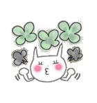 花*花うさぎスタンプ(字が大きい)(個別スタンプ:35)