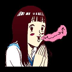 [LINEスタンプ] るみちゃんの事象