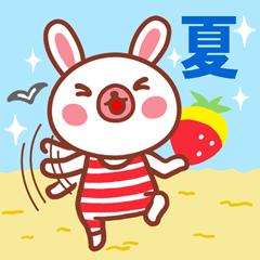 夏バージョン!イチゴがふわり