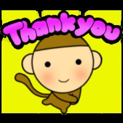 世界の言葉で『ありがとう』手描きデカ文字