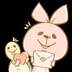 ウサギとカメ(日常用)