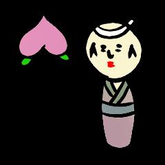「桃太郎」主演:こけし