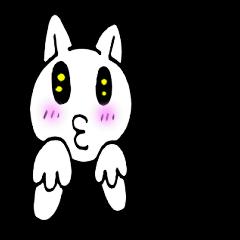 [LINEスタンプ] 感謝猫