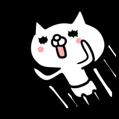 [LINEスタンプ] まだまだ青いネコ (1)