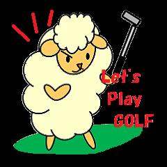 ゴルフ大好き羊さん パート2