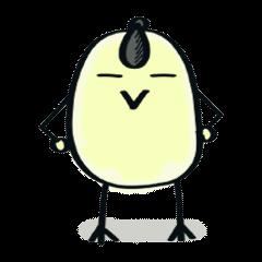 [LINEスタンプ] ひよマル (1)