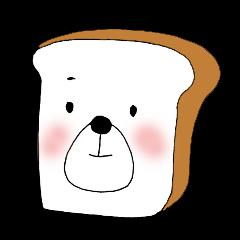 食パンのクマさん
