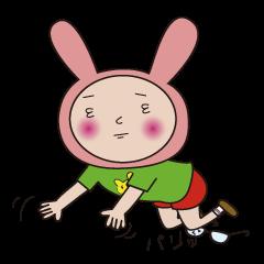 メガネなウサギ