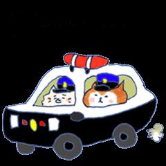 警察犬 じゅんことバード