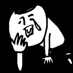 シュールなサインペン画2