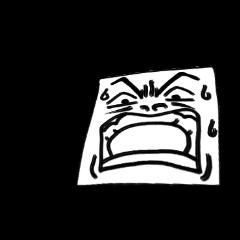 表情で語るスタンプ