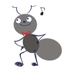 アリのアントンくん