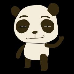[LINEスタンプ] Cute Baby Panda (Thai version)