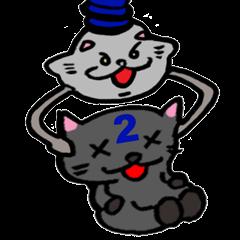 コスプレ猫 ロシアンブルーRB2.1