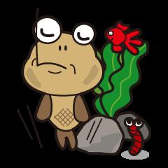 ダボハゼのはぜ太郎です。