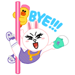 [LINEスタンプ] LINEキャラ★Party Time