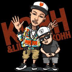 KOHH & LIL KOHH LINE スタンプ