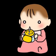 赤ちゃん絵日記。