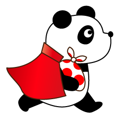 ぱんだマン 空飛ぶパンダ&くま loveちゃん