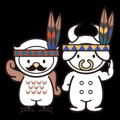 Moo! Moo! & Hoot! Hoot! ゆるゆる天国 ②