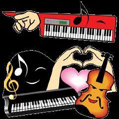 楽器・吹奏楽・オーケストラ・キャラ大集合