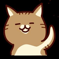 前田さんちの猫スタンプ