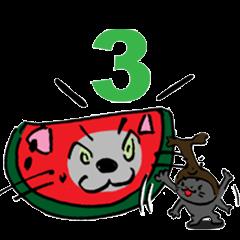 コスプレ猫 ロシアンブルーRB3.1