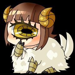単眼羊ちゃん