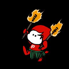 [LINEスタンプ] Pちゃん 2 (1)