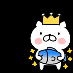 一人ぼっちの王様ネコ