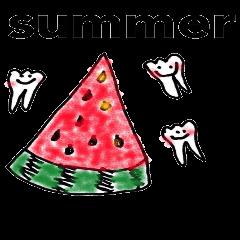 はぴかむの毎日3 夏ver. 一期一会 歯