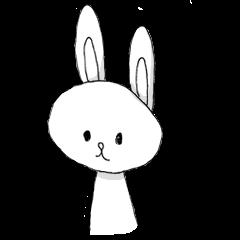 ウサギのクマのウシの