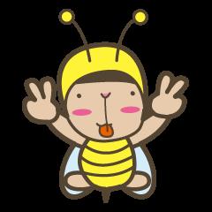 ハチのとち みちおです。