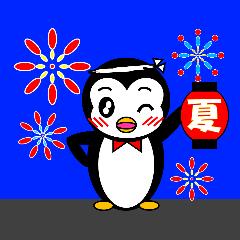 ペンギンのペペ2(お誘い・お返事用)