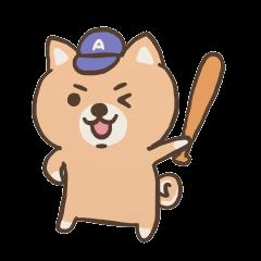 野球わんこ vol.1