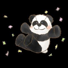 ふかふかパンダ