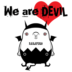[LINEスタンプ] We are DEVIL (1)