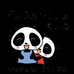『双子パンダ。』その2
