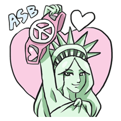 AsB - The Statue Of Liberty Heart Play