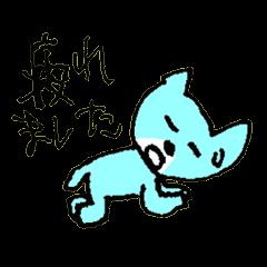 [LINEスタンプ] ネガティブ猫の菜々ちゃん