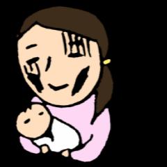 赤ちゃんとパパママ4