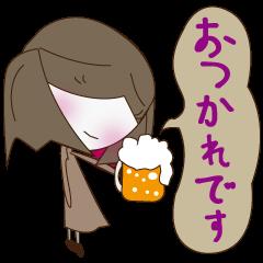 くうちゃんスタンプ(日常会話+結婚関係)