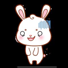 使い易い、分かり易い可愛いウサギの40感情