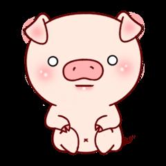 使い易い分かり易い可愛いブタ、豚の40感情