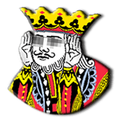 Lineスタンプ キングと愉快な仲間たち トランプシリーズ 40種類 1円