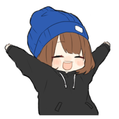 帽子大好きっ子のんちゃん