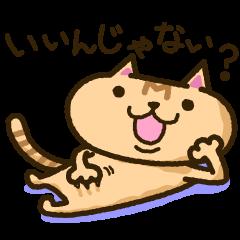 [LINEスタンプ] 茶猫エムの画像(メイン)