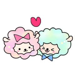 Cotton Candy Sheep(LOVE)