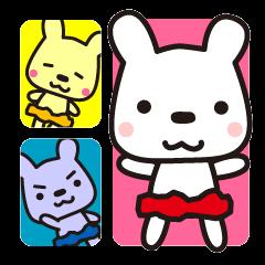 しんせつウサギ★しゅしゅ隊