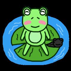 カエル&オタマジャクシ